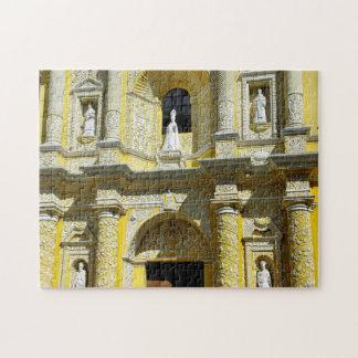 Antigua Church Merced Baroque Facade. Jigsaw Puzzle