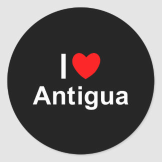 Antigua Classic Round Sticker