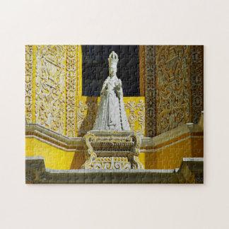 Antigua convent Merced Cloister. Jigsaw Puzzle