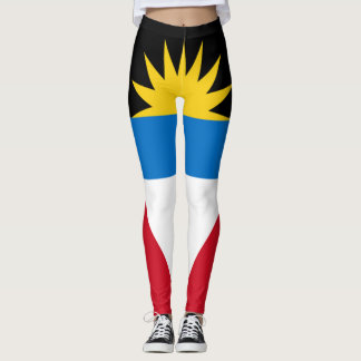 Antigua Flag full Leggings