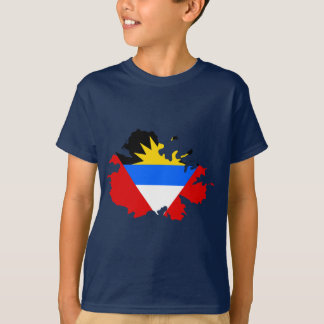 Antigua flag map T-Shirt