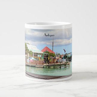 Antigua, Island in the Caribbean Giant Coffee Mug