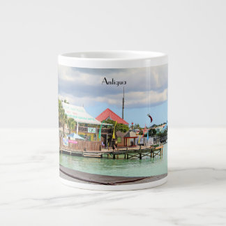 Antigua, Island in the Caribbean Large Coffee Mug
