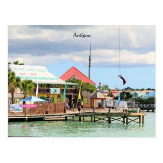 Antigua, Island in the Caribbean Postcard