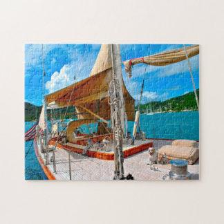 Antigua sailing yachts. jigsaw puzzle