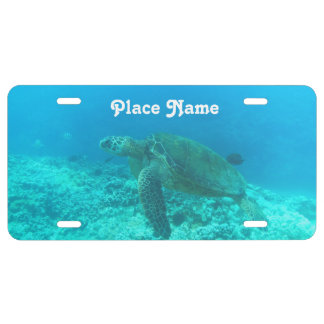 Antigua Scuba Diving License Plate