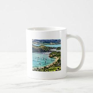 Antigua View Falmouth Harbor Coffee Mug