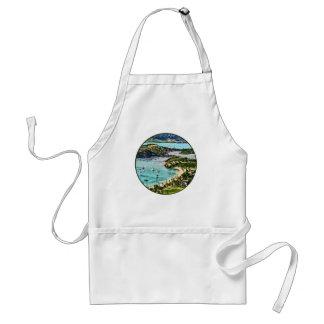 Antigua View Falmouth Harbor Standard Apron