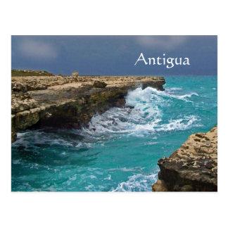 Antigua, West Indes, Souvenir Postcard