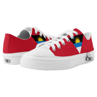 Antiguan and Barbudan Flag Low-Top Sneakers