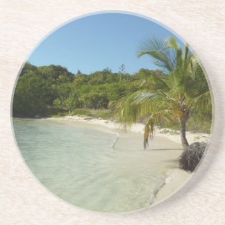 Antiguan Beach Beautiful Tropical Landscape Coaster