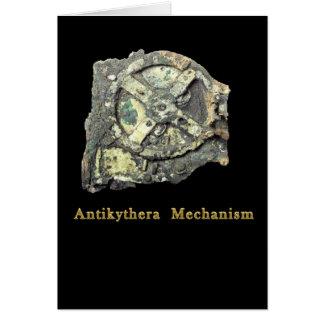 Antikythera Mechanism Card