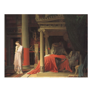 Antiochus and Stratonice Postcard