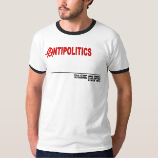 AntiPol txt frnt T-Shirt