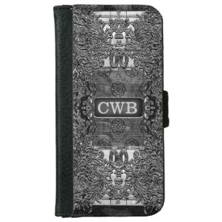 Antipolte Shadow Gothic Monogram 6/6s iPhone 6 Wallet Case