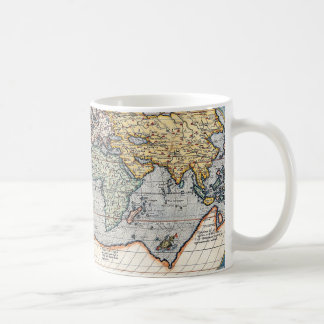 Antique 16th Century World Map Coffee Mug