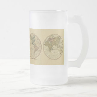 Antique 1786 World Map by William Faden Mug
