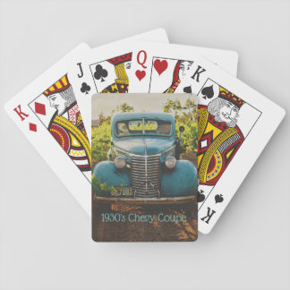 Antique 1930's Chevy Coupe Playing Cards