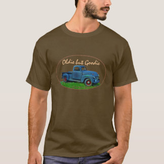 Antique 1947 GMC 100 Blue Truck T-Shirt