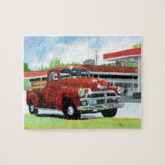 Antique 1954 Chevrolet Truck Jigsaw Puzzle
