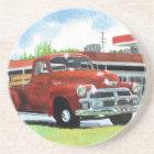 Antique 1954 Chevy Truck Coaster