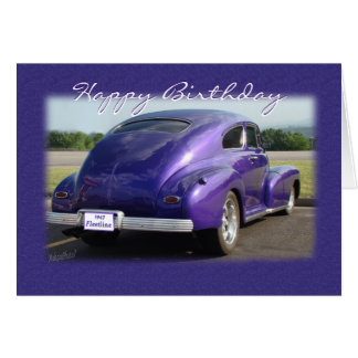 antique 47 Fleetwood -customize any occasion Card