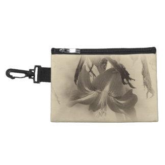 Antique Amaryllis Flower Accessory Bag