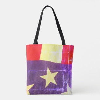 Antique American Flag Tote Bag