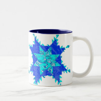 Antique American Quilts Two-Tone Coffee Mug