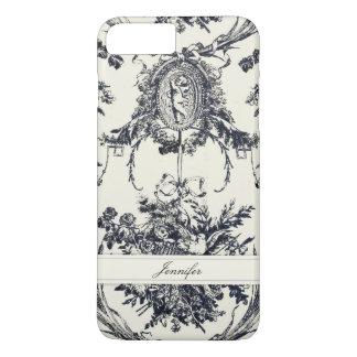 Antique Angel Customizable _Black iPhone 7 Plus Case
