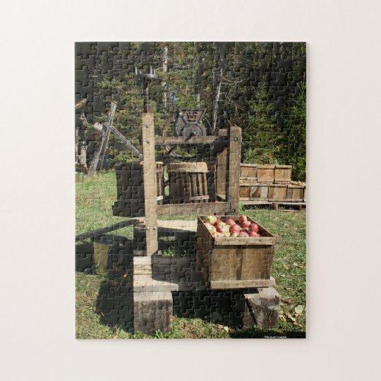 Antique Apple Cider Press Jigsaw Puzzle