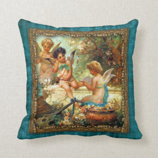 Antique Art Pillows