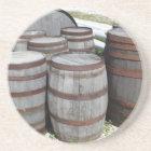 Antique Beer Barrels Photograph Coaster