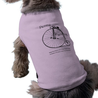 Antique bicycle Pet Clothing