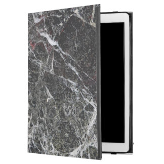 "Antique Black And Light Gray Marble Texture iPad Pro 12.9"" Case"