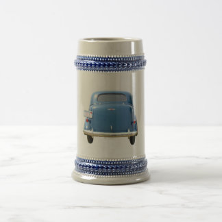 ANTIQUE BLUE CHEVY Beer Mug ~ Add your name!