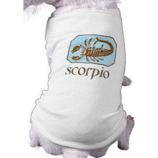 Antique Blue Scorpio Doggie T-shirt
