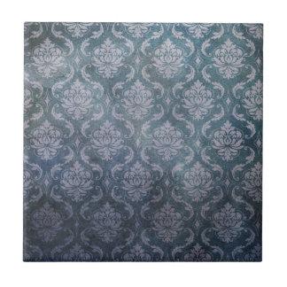 Antique blue wallpaper pattern ceramic tile