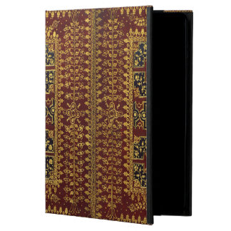Antique book binder in red and golden case for iPad air