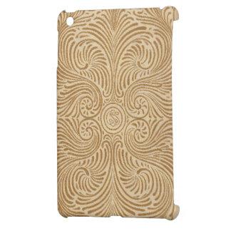 Antique Book Swirl Design iPad Mini Covers