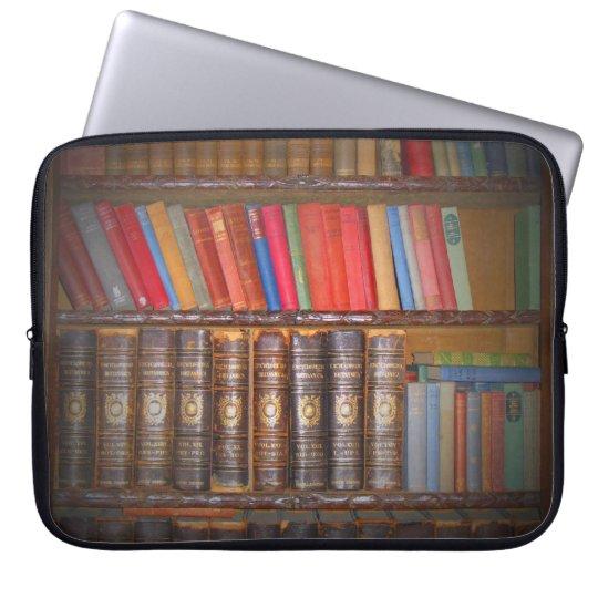 Antique Books Laptop Sleeve