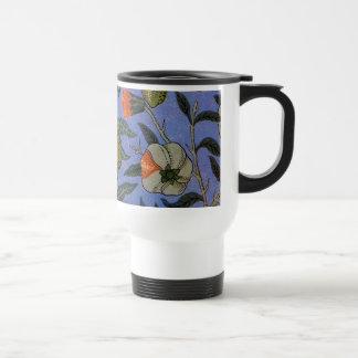 Antique Botanical Design Travel Mug