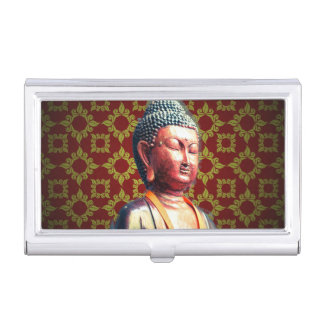 Antique Buddha Case For Business Cards