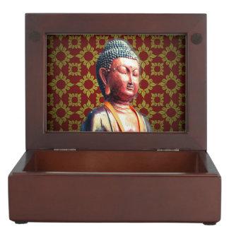 Antique Buddha Keepsake Box