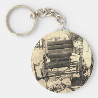 Antique Buggy Keychain
