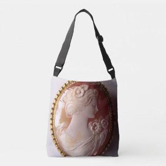 Antique Cameo Crossbody Bag