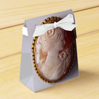 Antique Cameo Favor Box