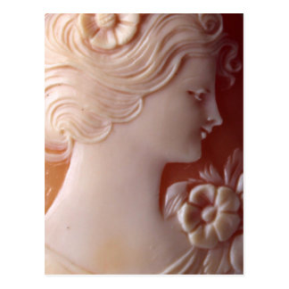 Antique Cameo Postcard