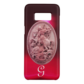 ANTIQUE CAMEO / SAINT GEORGE AND DRAGON MONOGRAM Case-Mate SAMSUNG GALAXY S8 CASE
