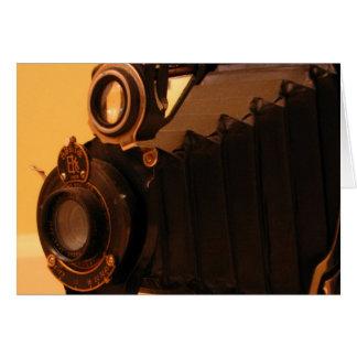 Antique Camera Card